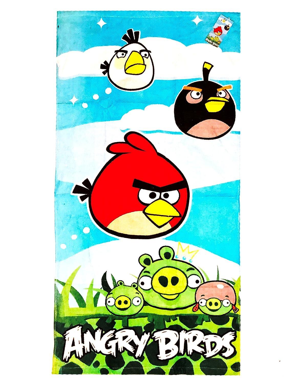 Angry Birds Kids Terry Bath Towel 20X40