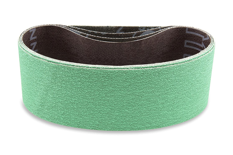 "60 X 1 1//2/"" X 30/"" Coated Zirconia Sanding Belt nickel alloys titanium bronze"