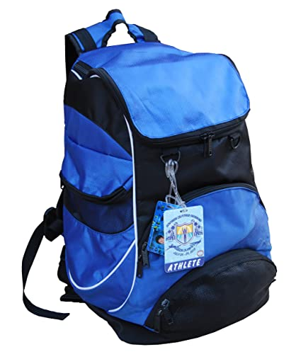 8fb125f41e87b Amazon.com : Swimmer Backpack, Large Swimming Backpack with Pocket for  Shoes and Wet Items - Blue : Sports Stadium Seats : Sports & Outdoors