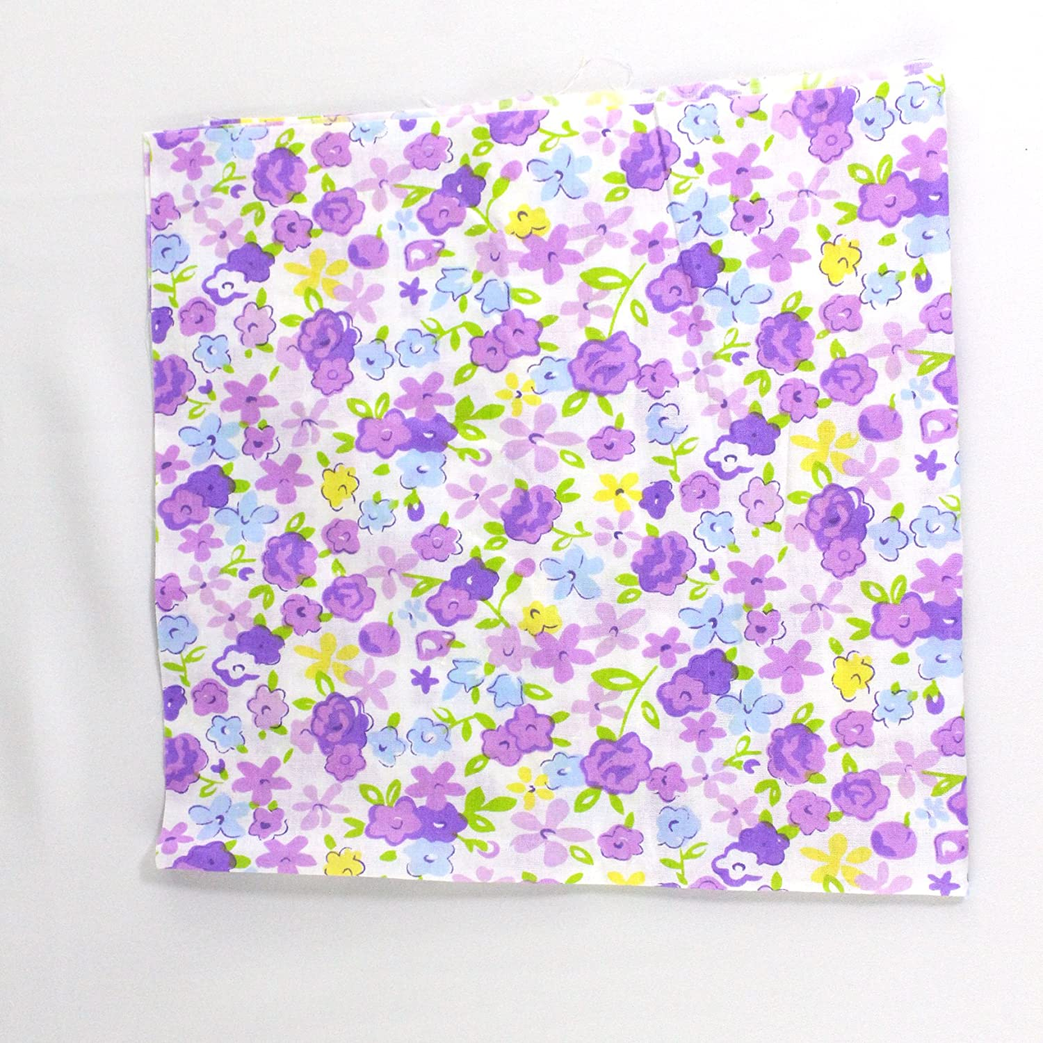 stripe and other Polka dots Cotton Craft Fabric Bundle Pre Cut Squares Patch work DIY Sewing Quilting for DIY Handmade Craft Sewing random styles including colorful floral 50pcs 8x9.5 inch 20x25cm