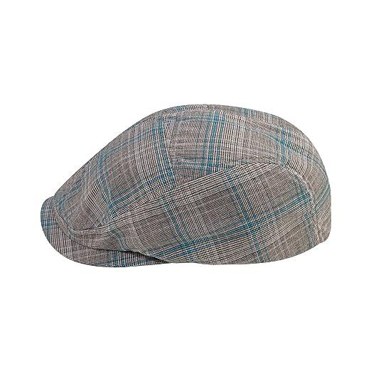 8d6f379b Unisex Polyester Plaid Ivy Cap at Amazon Men's Clothing store: