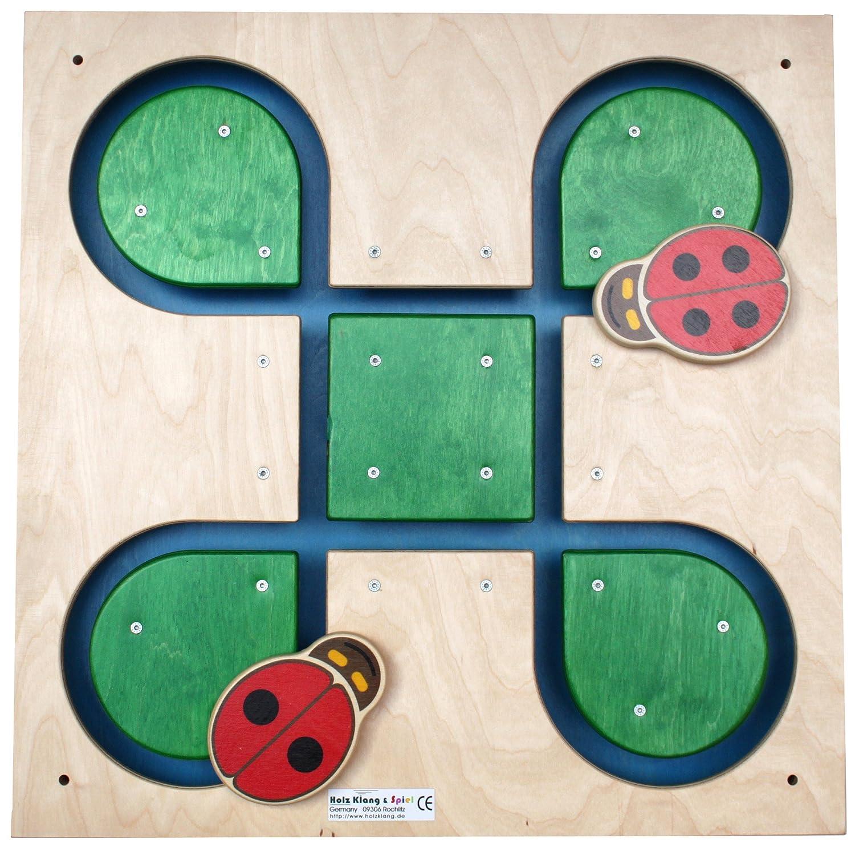 Holzklang holzklang070 052 48 x 48 cm Kleeblatt 4 Leafs Leafs Leafs Spiel 853184