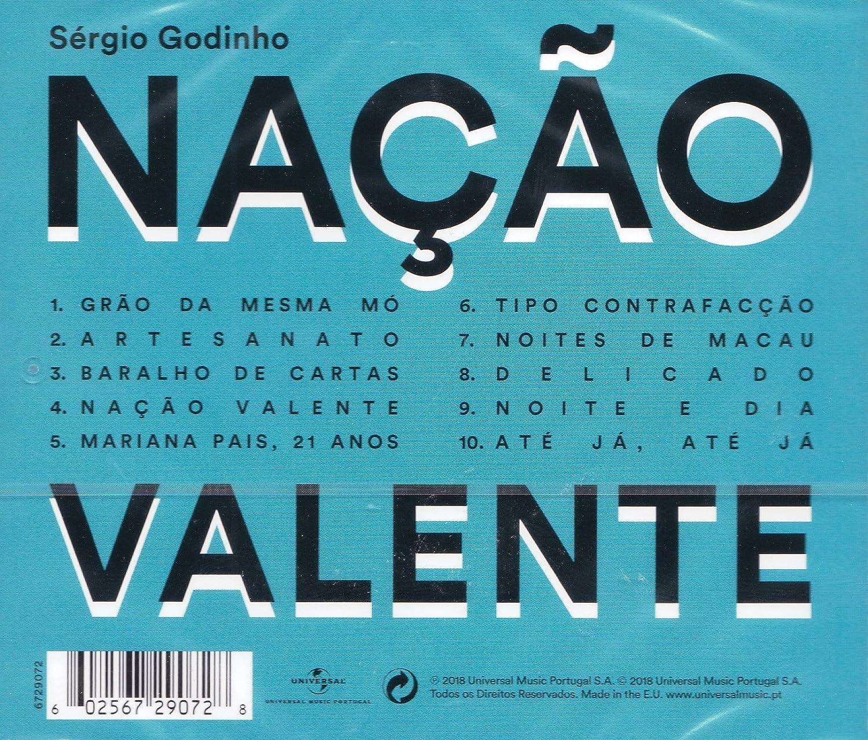 Sergio Godinho - Sergio Godinho - Nacao Valente [CD] 2018 ...