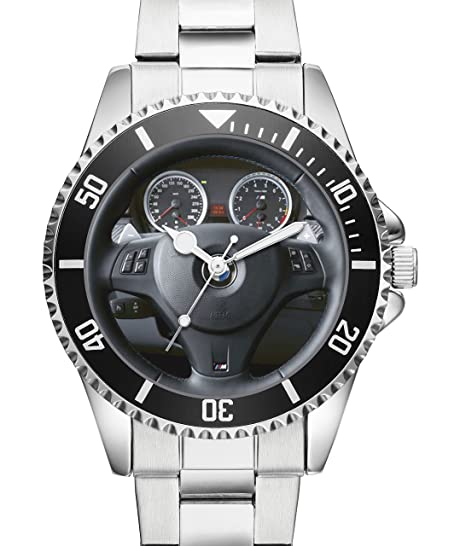 kiesenberg® Reloj pulsera con Cockpit Photo para BMW M3 conductor 10074: Amazon.es: Relojes