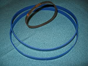 2 BLUE MAX URETHANE ROUND DRIVE BELTS FOR  UNIVERSAL PRODUCTS UBS 14UL  BAND SAW