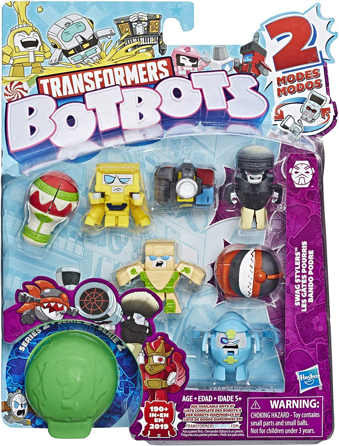 Swag Stylers Transformers Botbots Collectible Figure 8-Packs Random