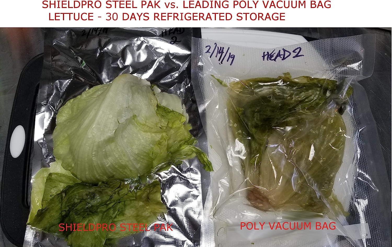 Mylar Vacuum Seal 8x16 or 11x16 Rolls 3, 8x16 SteelPak Textured//Embossed Aluminum Foil Vacuum//Heat Seal Rolls to Create Custom-Sized Vacuum Sealer Bags