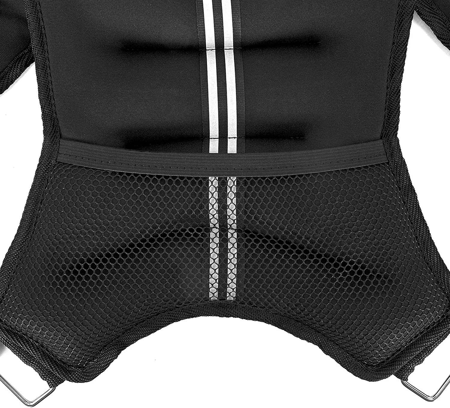 Strength Training /& More OneFitWonder 20 Lb Fixed Weight Vests//Easily Adjust Fit//for Body Weight Agility