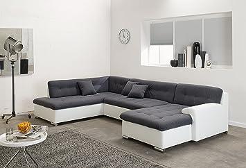 Arbd Wohnlandschaft Couchgarnitur U Form Rocky Mit Schlaffunktion
