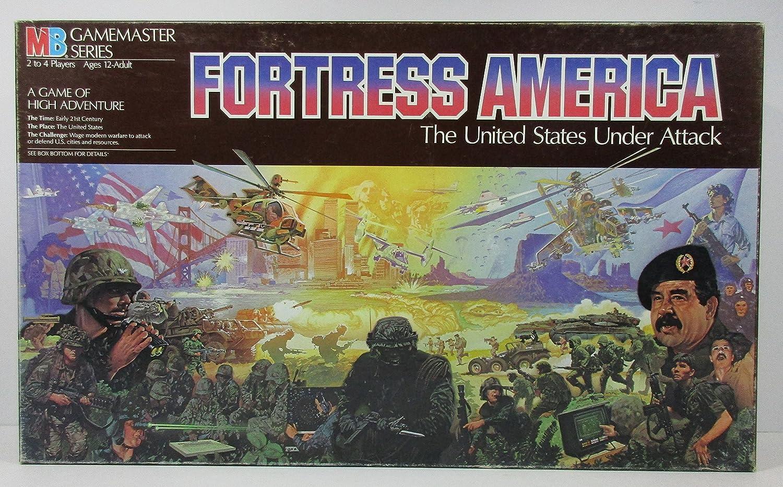 MB Milton Bradley Fortress America by: Amazon.es: Juguetes y juegos