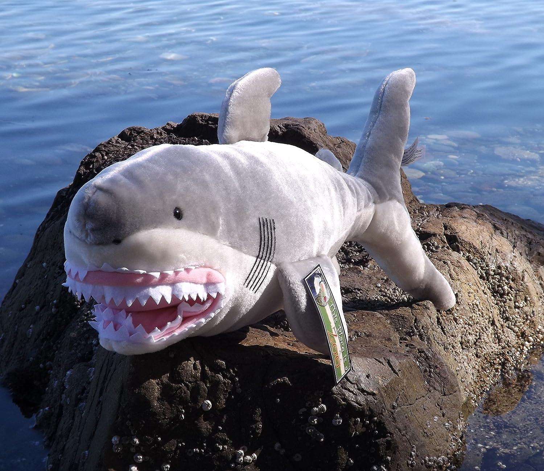 Amazon Chomp the Man Eating Great White Shark Plush Toy