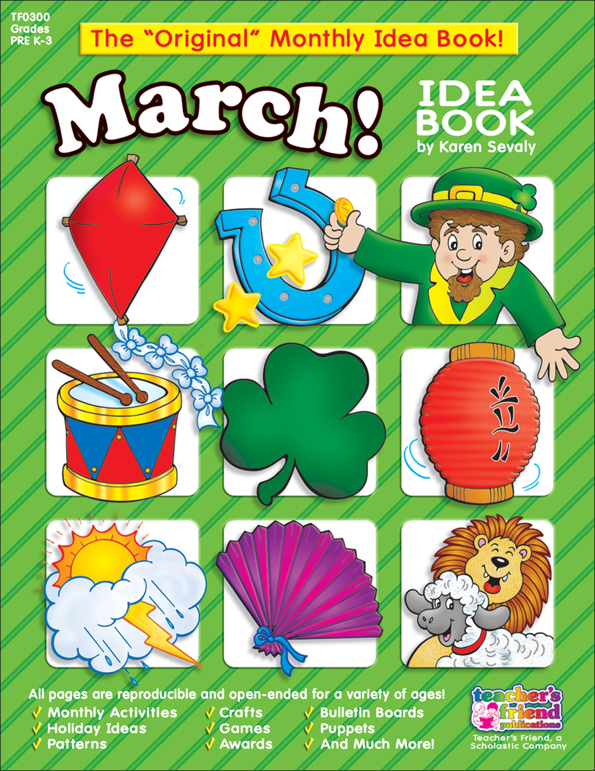 march monthly idea book scholastic 0031095003003 amazon com books