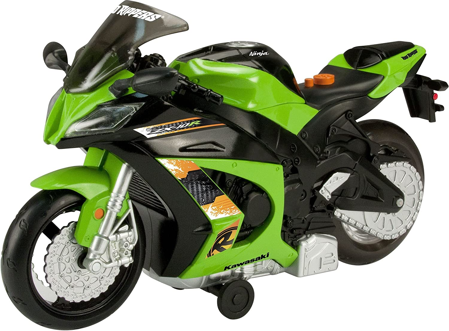 Amazon.com: Kawasaki Ninja Road Rippers Wheelie Bike: Toys ...