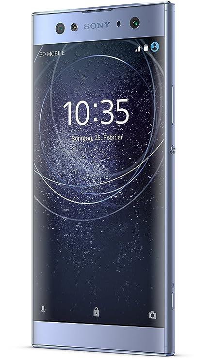 Sony Xperia XA2 Ultra Smartphone (15,2 cm (6 Zoll) Full HD Display, 32 GB Speicher, 4 GB RAM, Android 8.0) Blau - Deutsche Ve