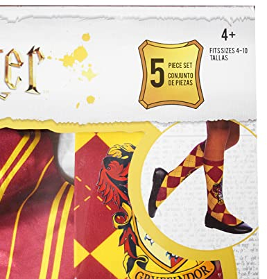 Amazon.com: Imagine Harry Potter Gryffindor Interactive Wand and Gryffindor Costume Set - Size 4-10: Clothing
