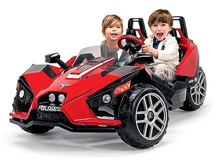 amazon peg perego polaris slingshot ride on toys games Black Slingshot Car peg perego polaris slingshot ride on