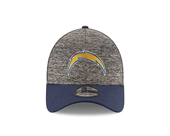 lowest price 52e3a 63909 Amazon.com   NFL San Diego Chargers 2016 Draft 39Thirty Stretch Fit Cap,  Small Medium, Heather Gray   Sports   Outdoors
