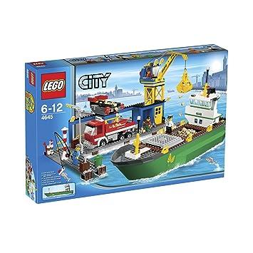 De PortJeux City Jeu 4645 Lego Le Et Construction ZuOXTiPk