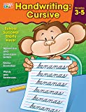 Brighter Child 704873 Handwriting: Cursive Workbook