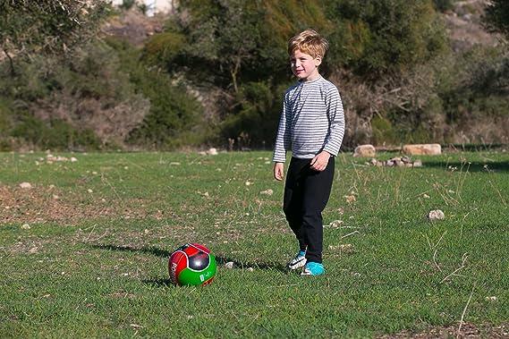Balón de fútbol Cristiano Ronaldo CR7 Portugal 6 paneles rojo ...