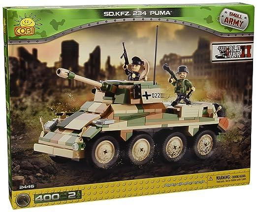 3 opinioni per Cobi- Piccolo Esercito / 2446 / Sd.Kfz. 234 Puma 400 Mattoni