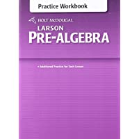 Holt McDougal Larson Pre-Algebra: Common Core Practice Workbook