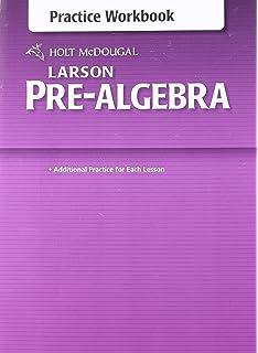 Holt mcdougal algebra 1 florida edition amazon books holt mcdougal larson pre algebra common core practice workbook fandeluxe Image collections