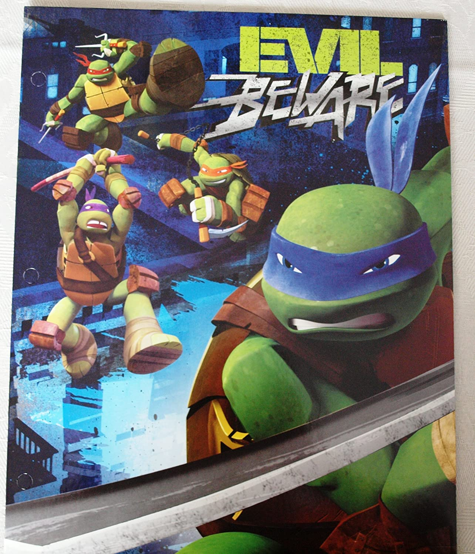 Teenage Mutant Ninja Turtles 2 Pocket Portfolio (Color and Styles May Very)