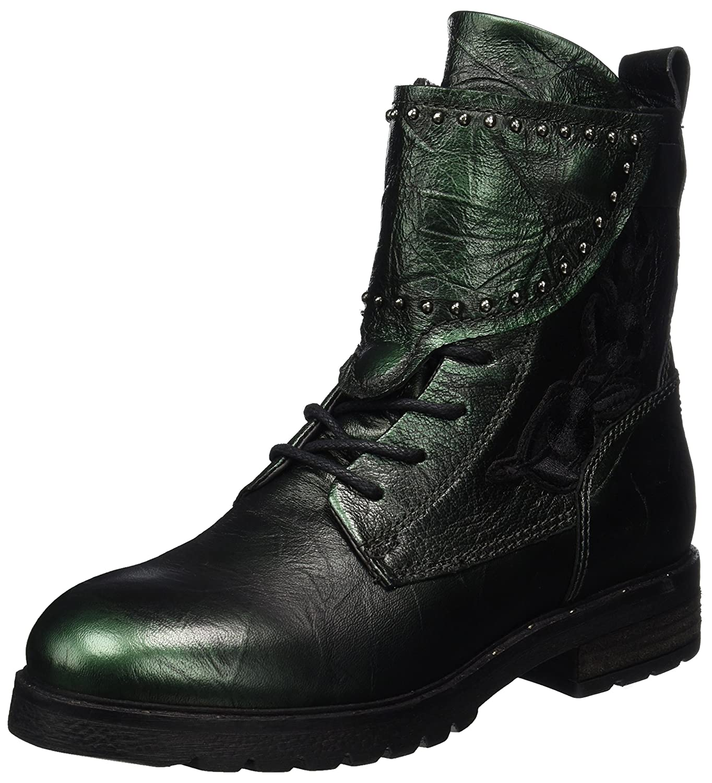 Mjus 190204-0101, Botas Militares para Mujer Verde (Lichene 6461)