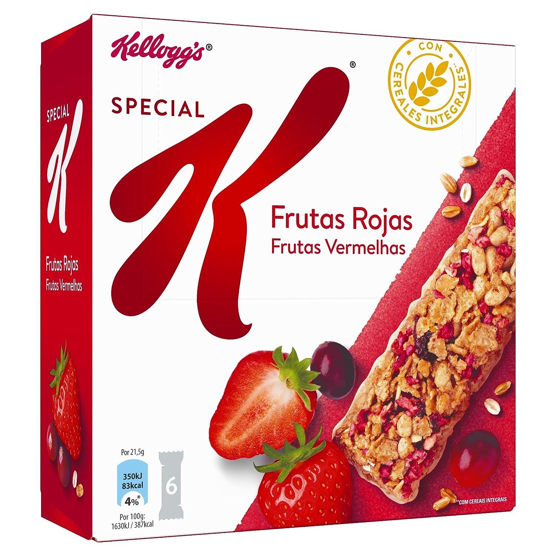 Special K - Barrita De Cereales Frutos Rojos, 6 x 21,5 g: Amazon.es: Alimentación y bebidas
