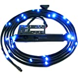 NZXT CB-LED20-BU Light Sensitivity Sleeved LED Kit (2-Meters) (Blue)
