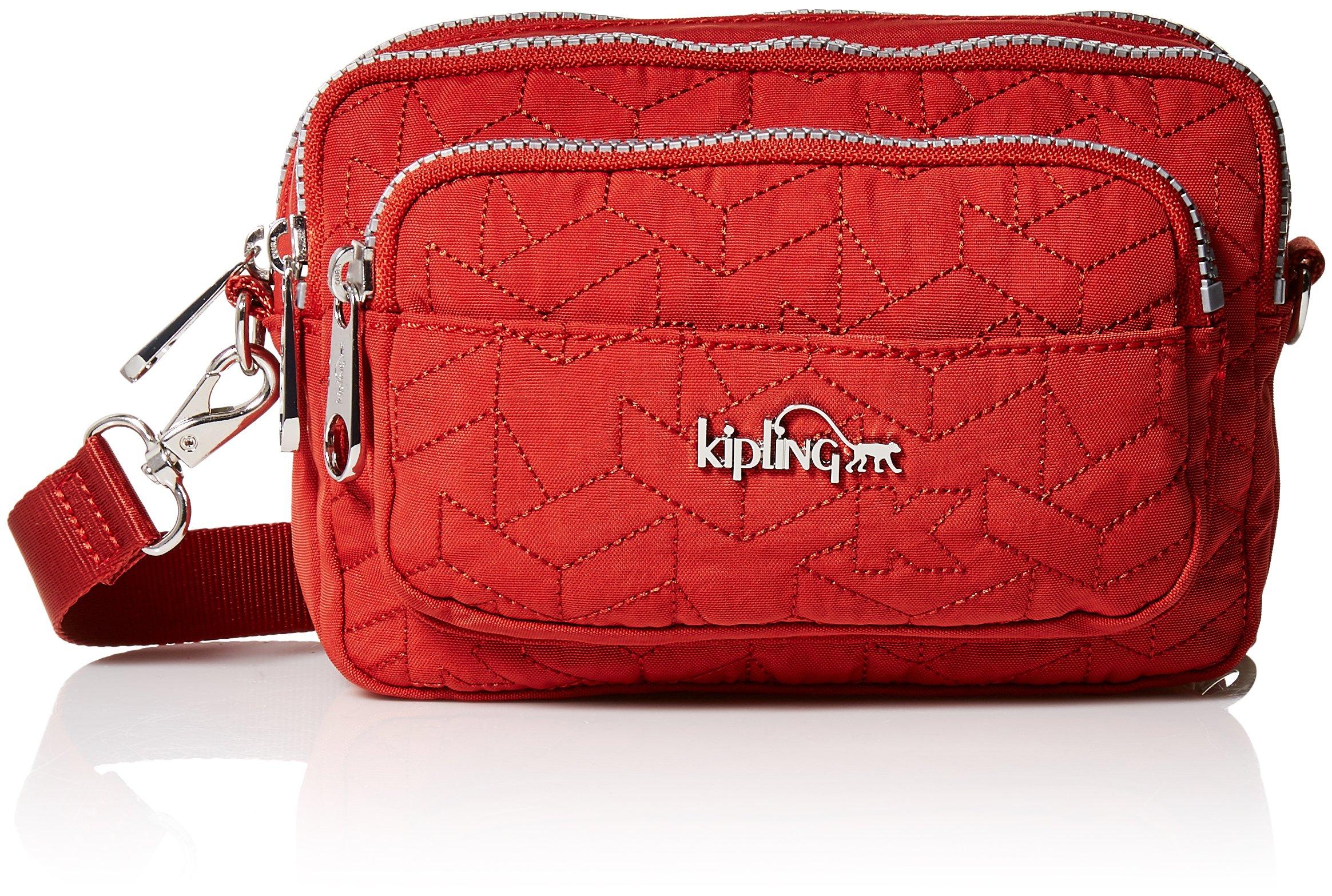 Kipling Women's Merryl Quilted Waistpack, Red Rust by Kipling