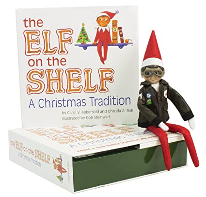 The Elf on the Shelf: A Christmas Tradition Blue Eyed North Pole Elf Boy with