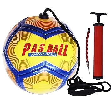 PASBALL Balón de Fútbol para Entrenador de Fútbol, con Bomba de ...