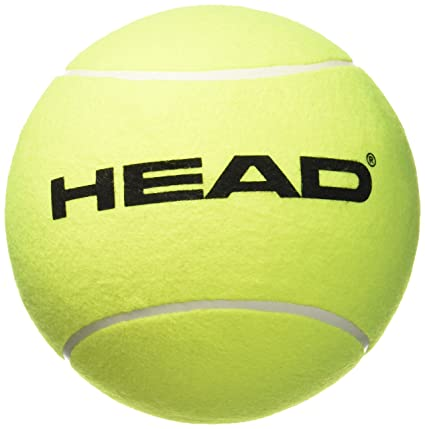 Head 589001 - Pelota gigante hinchable, color amarillo