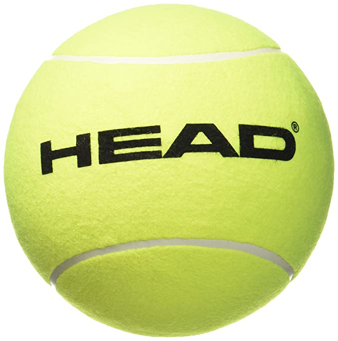 Head 589001 - Pelota gigante hinchable, color amarillo: Amazon.es ...