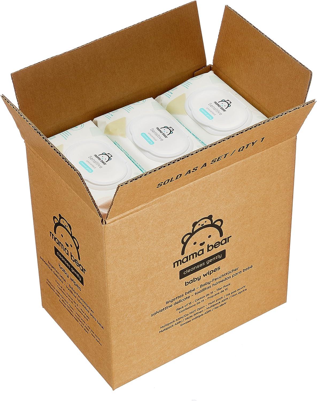 15er Packung Mama Bear Soft Baby-Feuchtt/ücher 840 T/ücher Marke