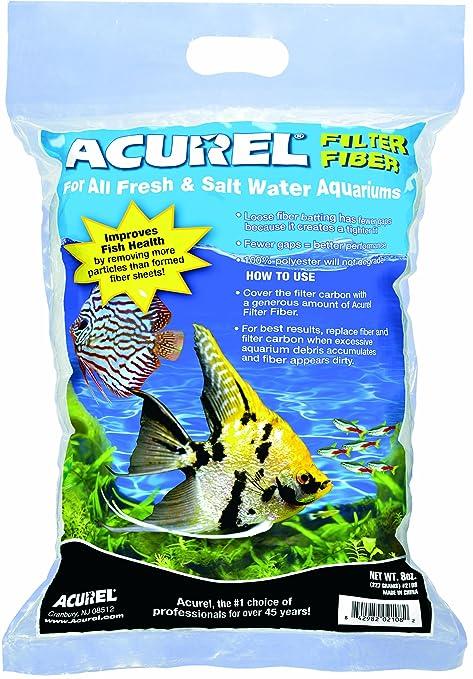 Acurel 100% poliéster Fibra de Filtro para acuarios de Agua Dulce y Salada