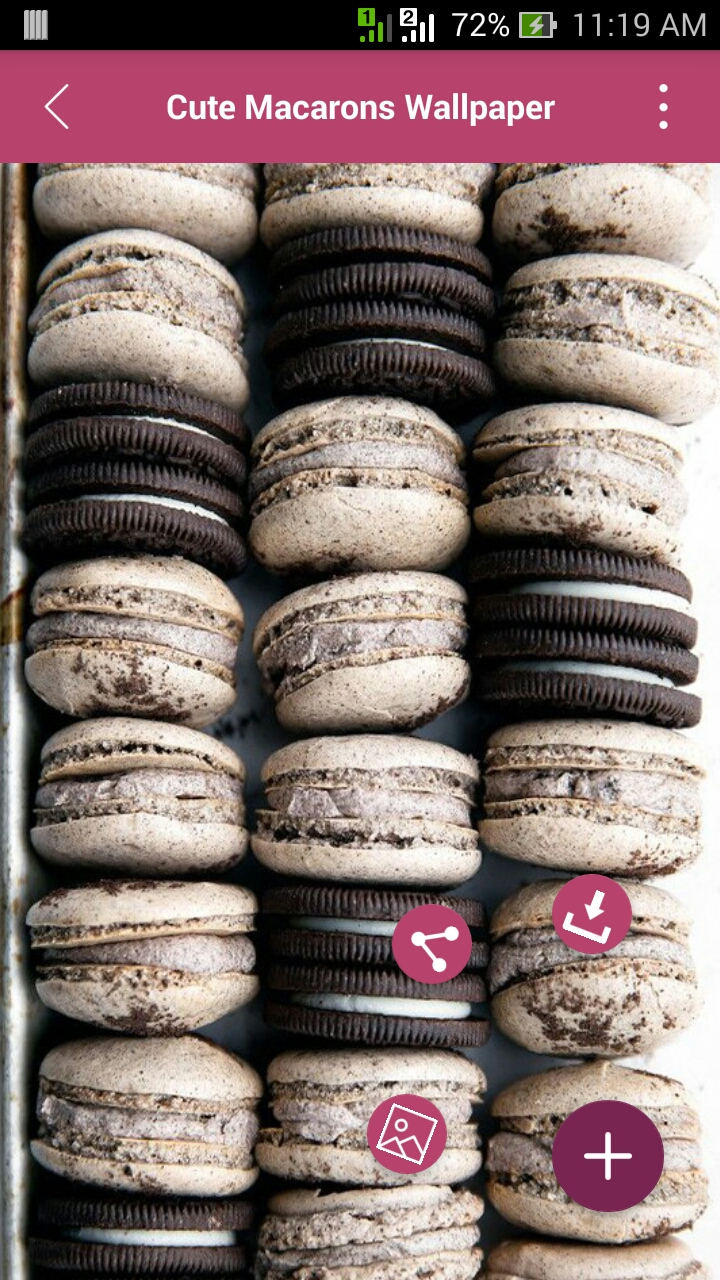 Amazon Com Cute Macarons Wallpapers Appstore For Android