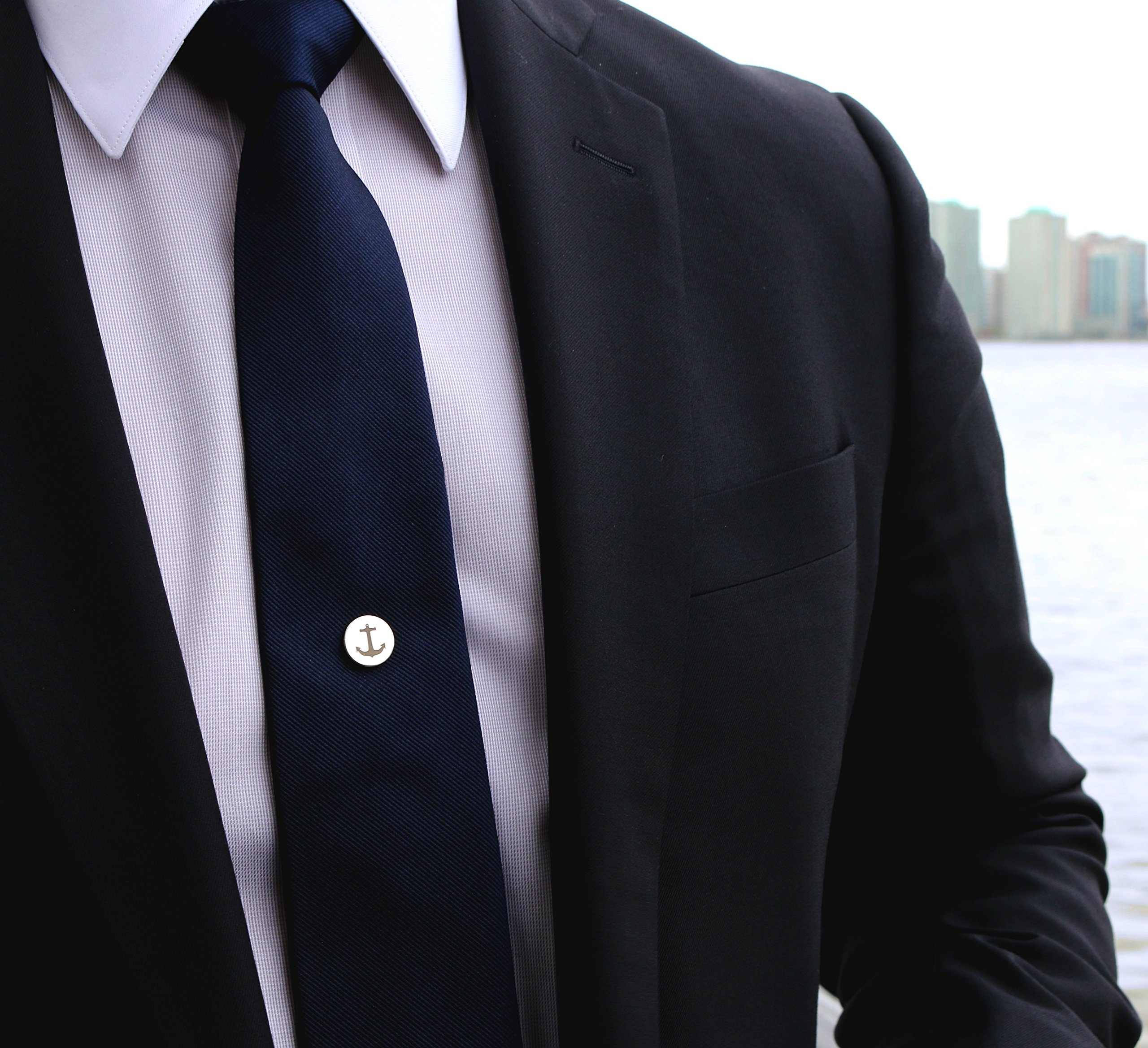 Tie Mags, The Nautical Anchor, Magnetic Tie Clip by Tie Mags (Image #3)