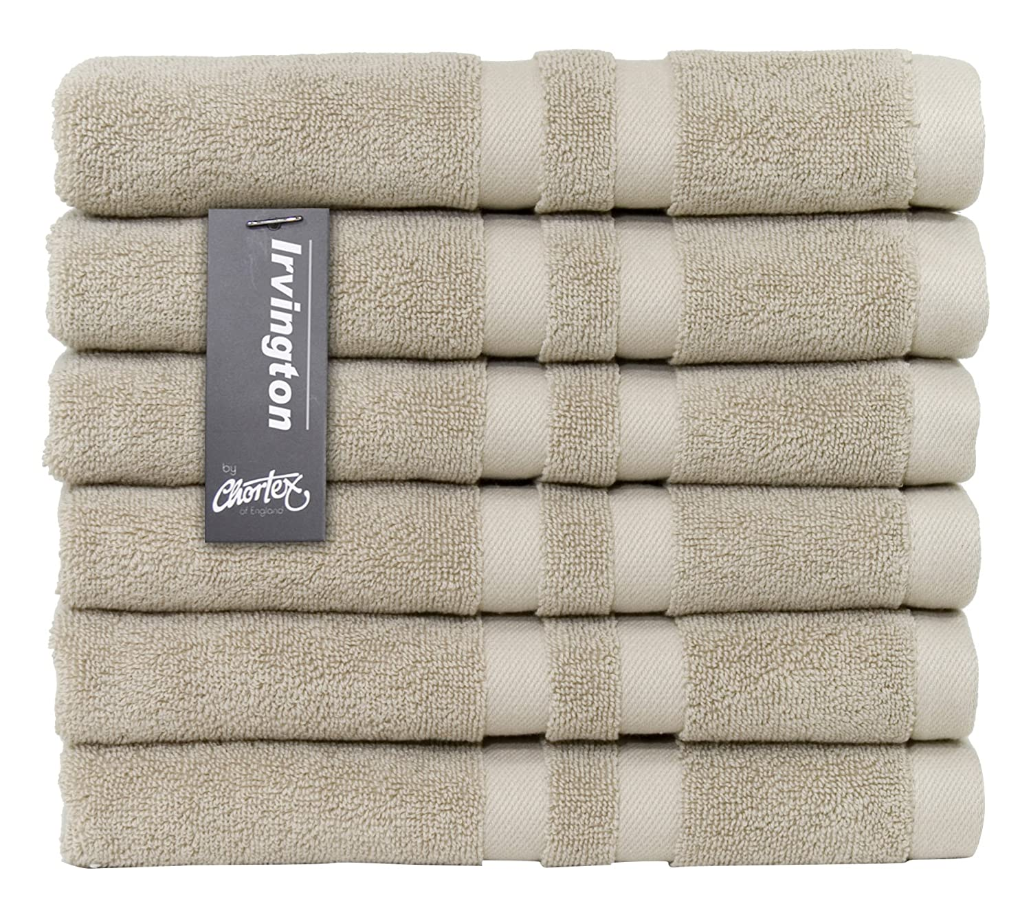 Bath Mat-Pack of 2 Cream Chortex Luxury 850gsm 100/% Turkish Cotton