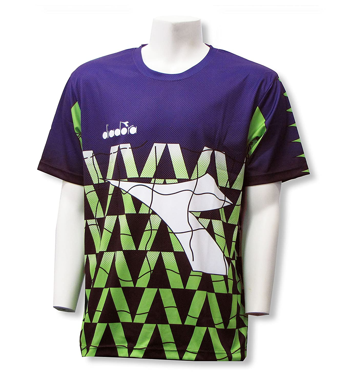 Code Four Athletics APPAREL メンズ B01MSLG0MQ Adult Medium|Purple/Lime Purple/Lime Adult Medium
