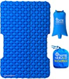 SuitedNomad Double Sleeping Pad for Camping, 2 Person Inflatable SUV Air Mattress Bed, Lightweight Versatile Design Mat…