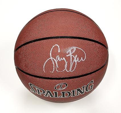 0c8d2dc233d Larry Bird Boston Celtics Signed Autographed Spalding NBA Basketball ...