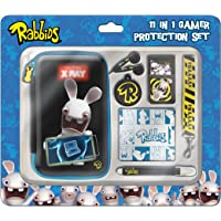 Raving Rabbids 11pc 3D Protection Set (Nintendo 3DS/DSi/DSi
