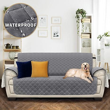 Utopia Bedding Impermeable Funda de sofá con Correas ...