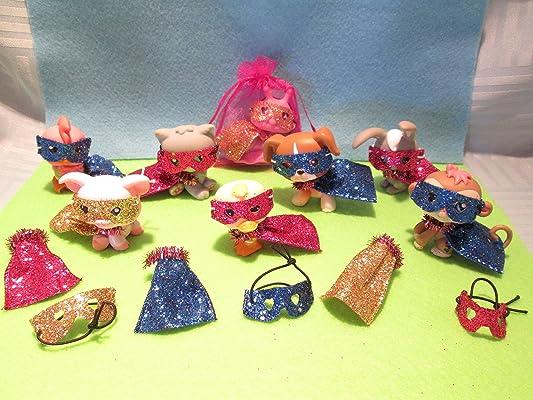 Littlest Pet Shop LPS Superhero Glitter Accessories Costume