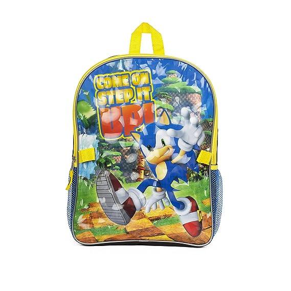 Super Sonic Sonic Boom Mochila con Caja de Almuerzo ...
