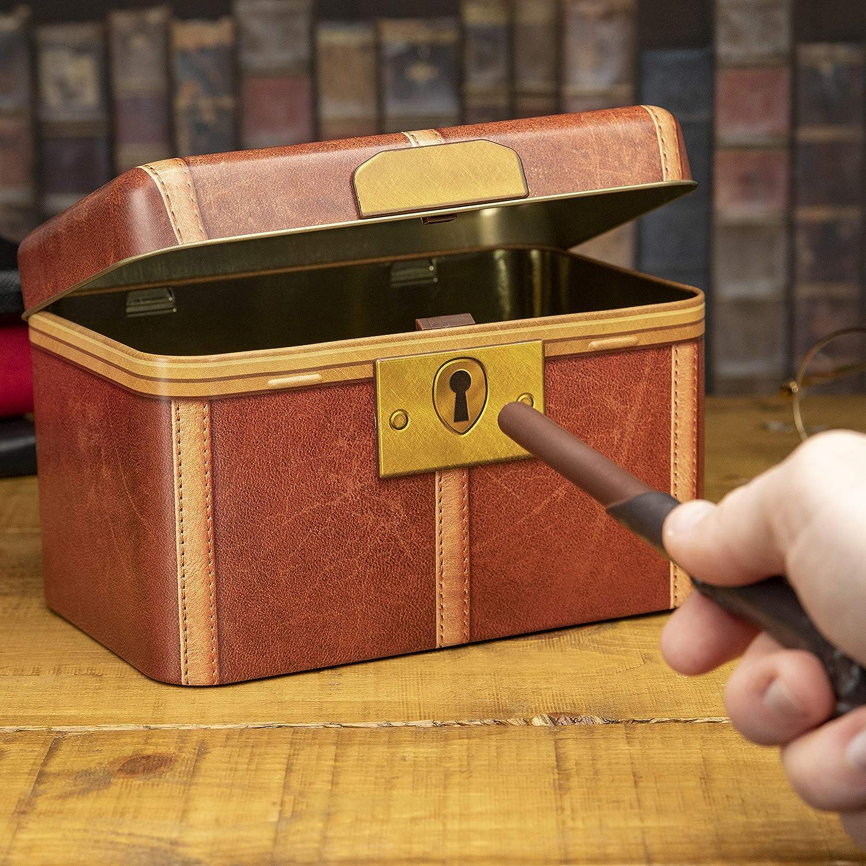 Paladone PP4951HP Hucha Baúl Harry Potter, Marrón, 11 x 17 x 12 cm