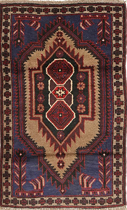 Miraculous Amazon Com Baluch Rug 29X46 83X138 Cm Oriental Carpet Creativecarmelina Interior Chair Design Creativecarmelinacom